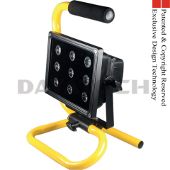 Rechargeable cordless work lamp 9-36W high power LED tech