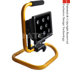 stand battery hand site light