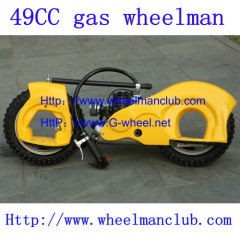 wheelman gas skateboard