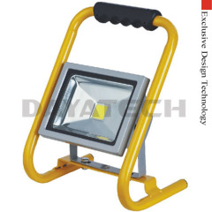Portable 20W LED floodlight with duty stand