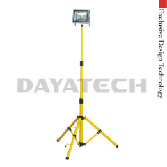 10-70W LED Work Light with Tripod Single