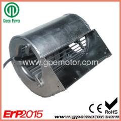 high efficiency Dual inlet EC Fan blower 48V D1G133