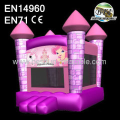 New Princess Inflatable Moonwalk