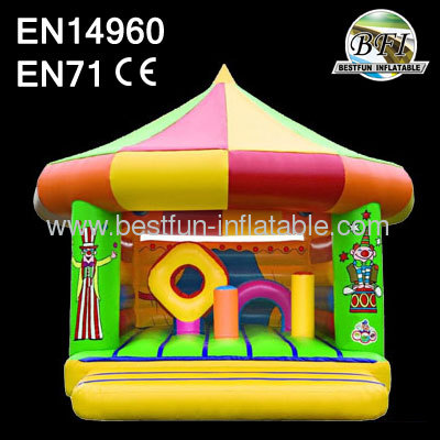Outdoor Clown Inflatable Bouncer