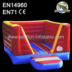 Mini Red Inflatable Bouncer