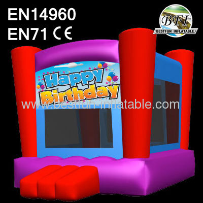 Lovely Red Inflatable Bouncer