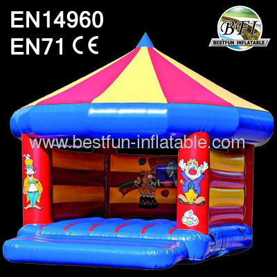 Inflatable Clown Bouncer House