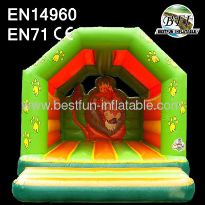 Inflatable Bouncer With Lion Theme