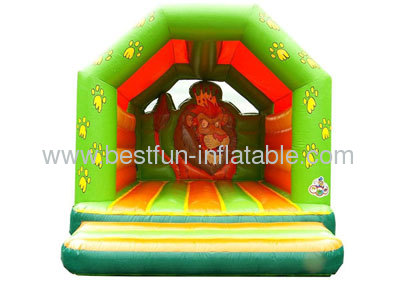 Inflatable Lion Bouncer For Sale