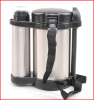 New Lunch Box, Black Dome Lunch box & Stainless Steel Thermos