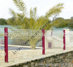 Pvc Coated Metal Fence