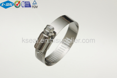 Stainless Steel American Type Worm Drive Screw Clamp