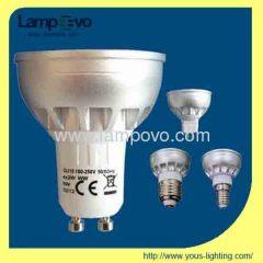 Led high power spotlight 3*2W 5W GU10 300lm