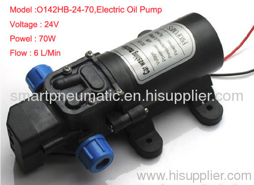 Electric pump and oil pump gas pumping diaphragm pump 24V