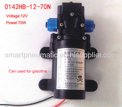 Electric pump and oil pump gas pumping diaphragm pump anti-explosion pump 12 V 70W