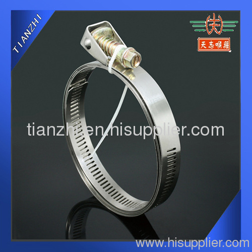 quick lock hose clamp with stainless steel
