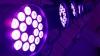 18x3w/9w uv led stage lighting