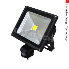 LED floodlight PIR Sensor 30W