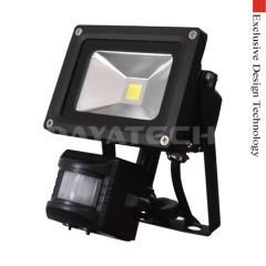 PIR LED Flood Light IP44 Rated With PIR Sensors