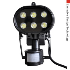 LED Spot Light with PIR Detector IP44 AC85~265V
