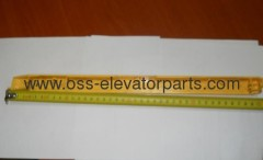 Side demarcation line yellow right Otis 508 XO (stainless steel step)