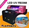 A1 Digital glass printer with UV lamp ,hot sale UV LED white ink glass printing machine factory