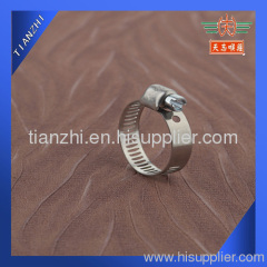 mini stainless steel hose clamp