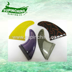 fibreglass honeycomb future fin sets