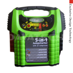 Jump starter air compressor power bank inverter Digital Disp