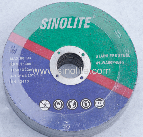 Cutting Disc for stainless steel AWA 46 Q resin-bonded reinformced abrasives