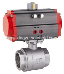 pneumatic Femal Thread 2-pcs Ball Valve