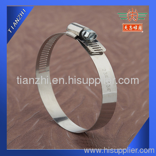 Amercian type bright stainless steel mirror clip