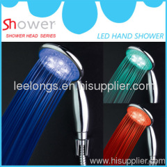 LED hand shower head shower handle abs hand shower