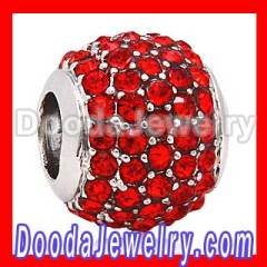 european Pave Lights Charms