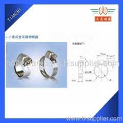 Micro Gear Hose Clamps