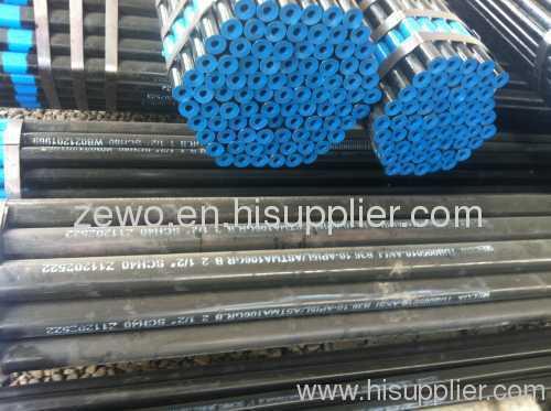SCH40 SCH80 seamless steel pipe