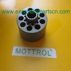 k3v112dt cylinder block 137383 KAWASAKI DOOSAN MOTTROL