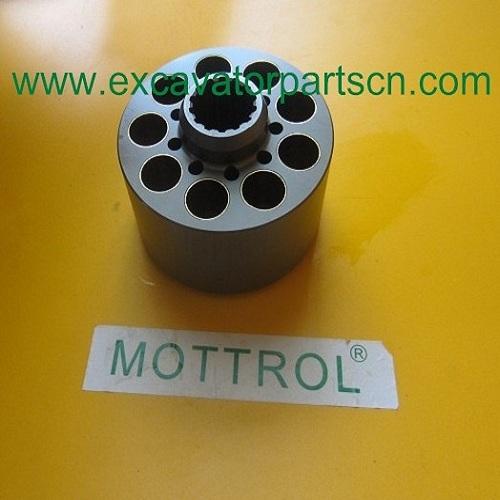 k3v112dt cylinder block 137383 KAWASAKI DOOSAN MOTTROL from China