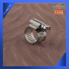 Worm gear Flexible coupling hose clamp