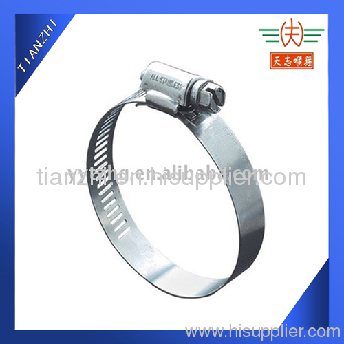 Worm drive Sheilded Hose Clamp