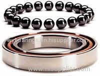 Deep groove ball bearing with ceramic balls