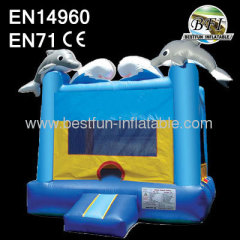 Dolphin Bouncer Inflatable House
