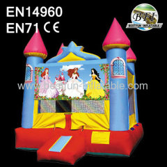 Princess Blue Bounce Castle