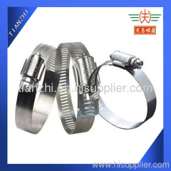 Stainless Steel worm gear hose clamp