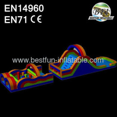 60' Inflatable Obstacle Course