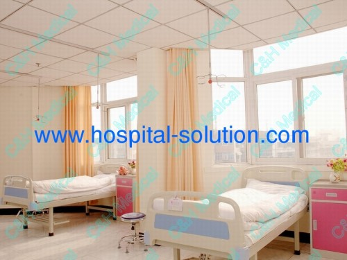 Infusion Ceiling System : Ceiling mounted infusion poles and rails system