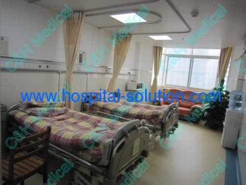 Hospital Ward Using Ceiling Mounted Patients 39 Bed Curtains And Rails Ch Hcs Manufacturer From