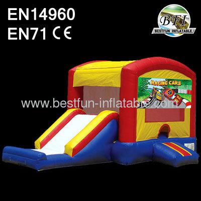 Backyard Inflatable Car Combo