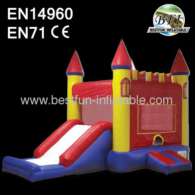 Red Inflatable Castle Combo