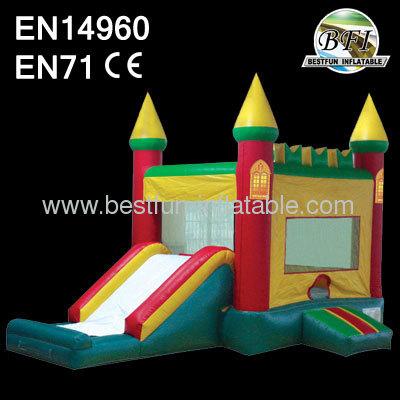 Inflatalbe Slide Castle Combo
